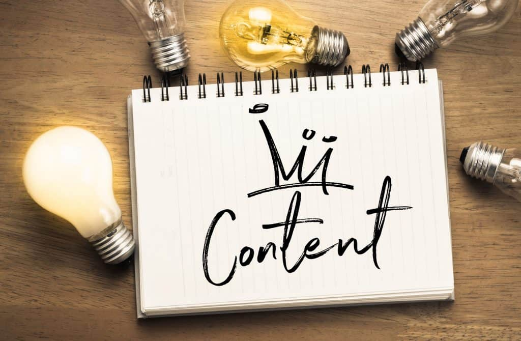 Creating Good Content : Content is King